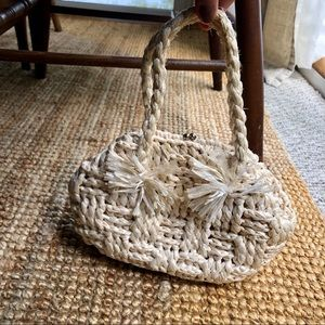 Mini Rafia Handbag